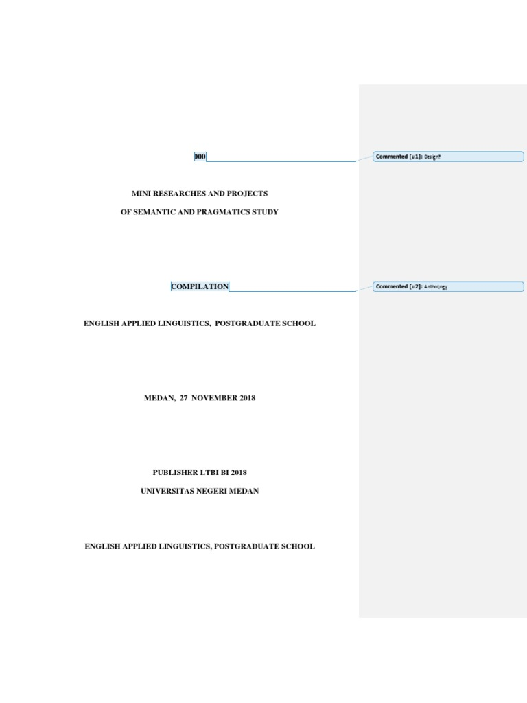 antology of semantics pragmatic half revised docx teachers