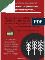 Guia Rapida Dieta Sin Gluten