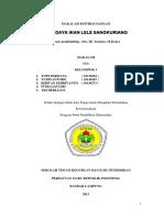 MAKALAH OBSERVASI KEWIRAUSAHAAN BUDIDAYA IKAN LELE.pdf