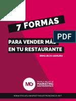 eBook 7 Formas de Vender Más en Un Restaurante Enlaces.compressed