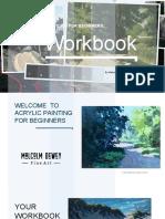 Acrylics Workbook