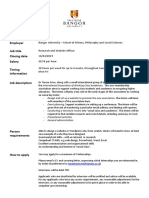 4. Research and Website Officer - History, Philosophy and Social Sciences