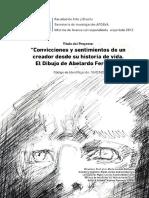 Informe Abelardo Ferreira