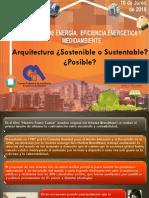 arquitectura sostenible-sustentable posible  ing Zulma cabrera.pdf