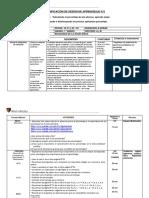 PLANIFICACIÓN DE SESIÓN DE APRENDIZAJE N°2 PRIMERO DE SECUNDARIA (PORCENTAJES) SEMANA DEL 18 AL 22 DE MARZO..docx