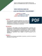 Curso Especializado En_ Ingeniería de Gas Principios y Aplicaciones.