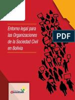 Libro Entorno Legal Para Organizaciones de La Sociedad Civil en Bolivia