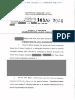 Michael Cohen Search Warrant 8