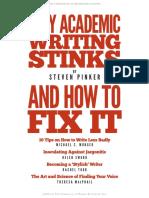 Why Academic Writitng Stinks