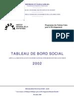 Tableau de Bord Social (2002)