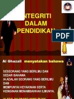 INTEGRITI DALAM PENDIDIKAN - IPG.ppt