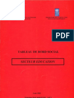 Tableau de Bord Social (TBS) 2002