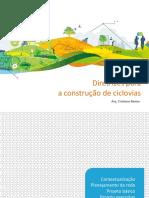 Diretrizes para a construção de ciclovias. Arq. Cristiane Bastos.pdf
