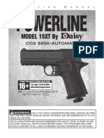 Daisy 15XTP Pistol Manual