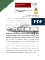 Prevocacionales en El IPN 1936-1947