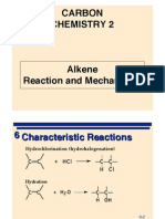Alkene Reaction