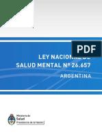 Ley de Salud Mental 26657