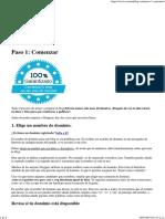 Paso 1_ Comenzar - Crear Un Blog Crear Un Blog