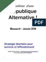 Manifeste de la république alternative