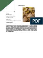 Empanadas de Piña.