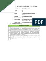 RPP Kelas 1 Tema 7 SubTema 3 Pembelajaran 2