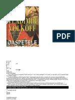 Vladimir Volkoff - Oaspetele Papei Plain