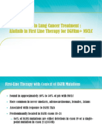 Afatinib in First Line Therapy