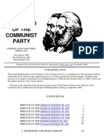 Karl Marx and F Engels Communist Manifesto