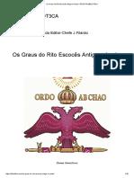 Os Graus do Rito Escocês Antigo e Aceito – REVISTA BIBLIOT3CA.pdf