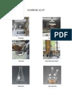 GAMBAR ALAT Pembuatan Amil Asetat
