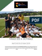 Tirage des quart de finales de la coupe Intersport