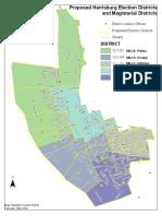Proposed Harrisburg ward changes