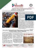 Únete, Periódico Virtual No 5 Dic 2018