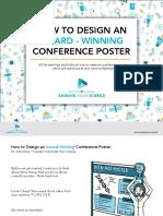 How to Design an Award Winning Poster