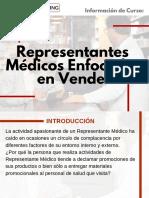 Curso Representantes Médicos Enfocados en Vender