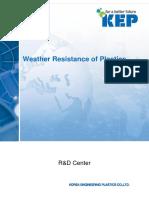 Weather Resistance of Plastics en(1508 R3)