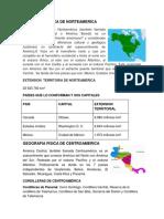 Geografia Fisca de Norteamerica