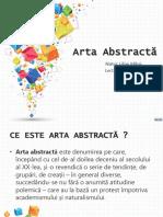 arta abstracta