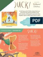 Duck! Teacher Tip Card