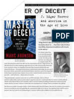 Master of Deceit by Marc Aronson Discussion Guide