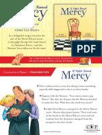 A Piglet Named Mercy Teacher Tip Card