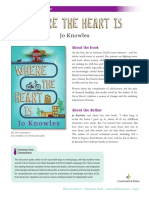 Where the Heart Is by Jo Knowles Discussion Guide