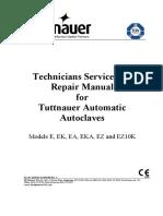 Tuttnauer E-Series Autoclave - Repair manual (2008).pdf