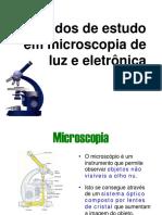 Aula 2 - Microscopio