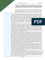 Orden de las enseñanzas deportivas en la Comunidad Autónoma de Aragón