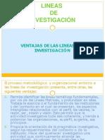 LINEAS DE INVESTIGACIÓN