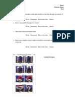 squat checklist
