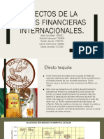 Efectos de La Crisis Financieras Internacionales