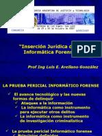 """""""Inserción Jurídica de la Informática Forense"""""""