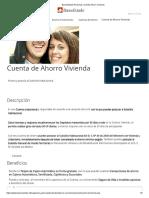 BancoEstado Personas _ Cuenta Ahorro Vivienda